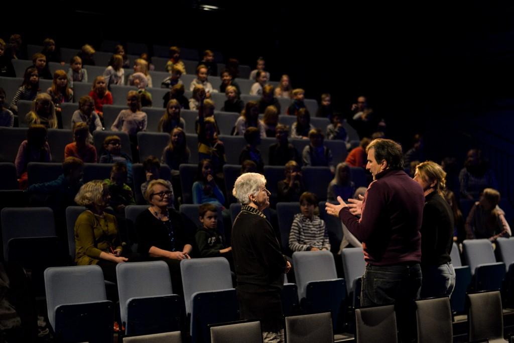 Robert-Adrian Pejo Oulun kansainvälisillä lasten- ja nuortenelokuvafestivaaleilla 2016.