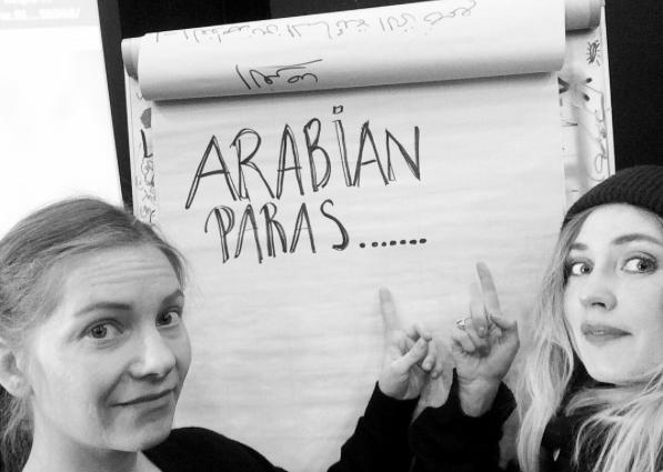 Arabian paras........vadå?
