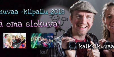 Suomen suurin nuorten leffakisa on käynnissä!