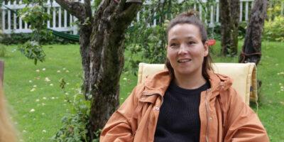 Elina Talvensaari kertoo Neiti Aika -elokuvasta