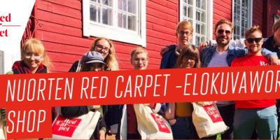 Nuorten Red Carpet -elokuvaworkshop
