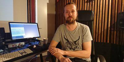 Kuvan tekijät: Äänisuunnittelija Pietu Korhonen